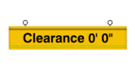 Clearance Bar (3 Feet)