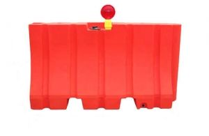 "Plastic Traffic Barrier 42""x72"" 170lb (Water or Sand)"