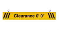 Clearance Bar (4 Feet)
