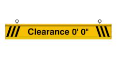 Clearance Bar (5 Feet)