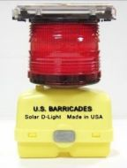 Airport Warning Light (Solar D-Type) Box Mount