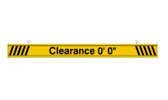 Clearance Bar (6 Feet)