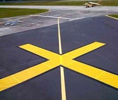 FAA Taxiway Closure X Marker - Economy 5x30 Yellow