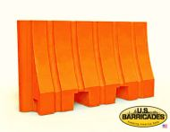 "Plastic Water/Sand Barrier 42""H x 72""L"