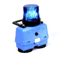 Blue Flag Strobe Light 360