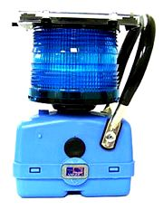 Blue Railroad Light (Solar)