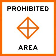 PROHIBITED AREA - USCG Regulatory Sign