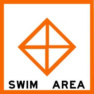 SWIM AREA - USCG Regulatory Sign