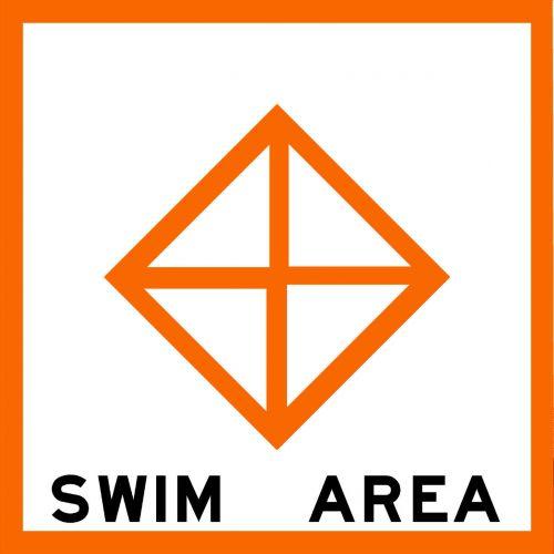 SWIM AREA - USCG Regulatory Sign