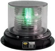 Solar Buoy Navigation Light - Green - 2 NM