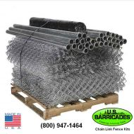 Galvanized Steel Chain Link Fence Kit - 300ft