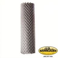 Galvanized Chain Link Fence Roll - 4 ft. x 50 ft. 11.5-Gauge