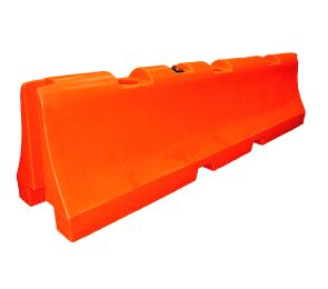 Plastic Construction Traffic Barrier 31x120 (Water or Sand)