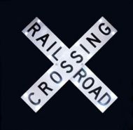 Solar Powered RAILROAD CROSSING (R15-1)