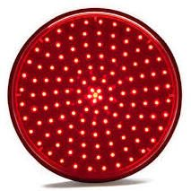 "Level Crossing LED Signal - Pixelated 12"" (300mm) DC"