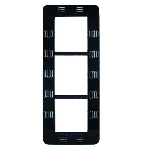 Traffic Signal Backplate - Louvered Aluminum