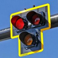 HAWK – High-Intensity Activated Crosswalk Pedestrian Beacon System - DC Solar Power