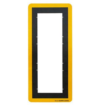 Traffic Signal Backplate - Reflective Border