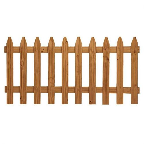 3 ft. x 6 ft. Pressure Treated Cedar-Tone Moulded Wood Fence Panel