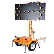 Solar Arrow Board (15 LED Lights)